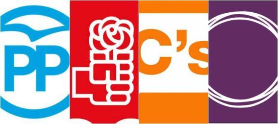 logos_pp_psoe_cs_podemos