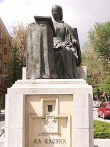 Monumento_a_Beatriz_Galindo en Madrid